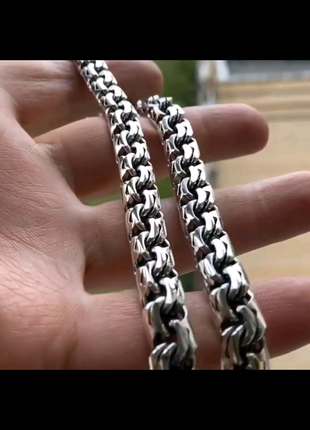 Серебряная цепочка 100 грамм