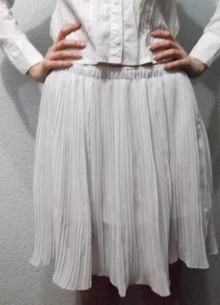 Спідниця біла