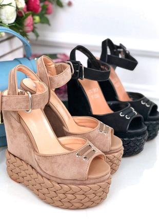 Женские босоножки сандали туфли на платформе