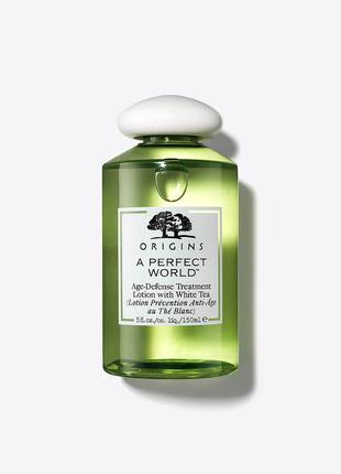 Origins a perfect world lotion with white tea антивозрастной л...