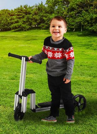 Хіт Продажів у США! Дитячий DIY 7 in 1: самокат, велосипед, ка...