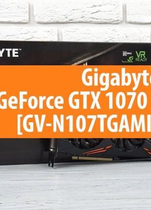Видеокарта gigabyte gtx 1070ti gaming 8gb гарантия