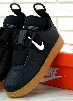 Мужская обувь \ кроссовки nike utility black.
