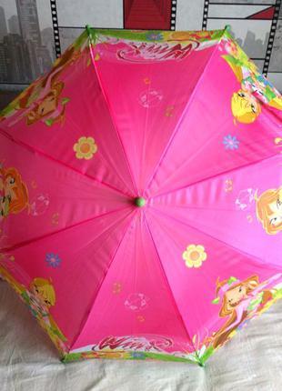Зонт зонтик для девочки Винкс winx