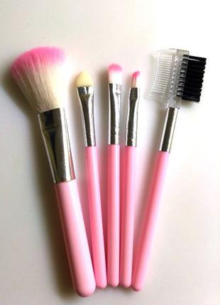 Кисти для макияжа кисть 5 штук