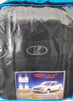 Авто чехлы Lada 2170 Priora 2007-2011 / 2012-2014 sedan Nika
