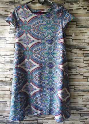 Летнее платье в стиле boohoo  размер  46.