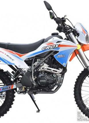 Мотоцикл Skybike Бело-оранжевый