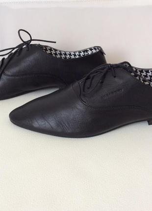 Туфли оксфорды кожа перчаток vagabond