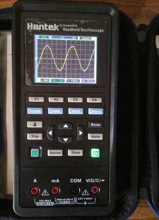 Осциллограф Hantek 2C42 двухканальный 40МГц + мультиметр