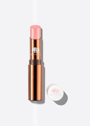 🌺origins blooming sheer lip balm оттеночный питательный бальза..