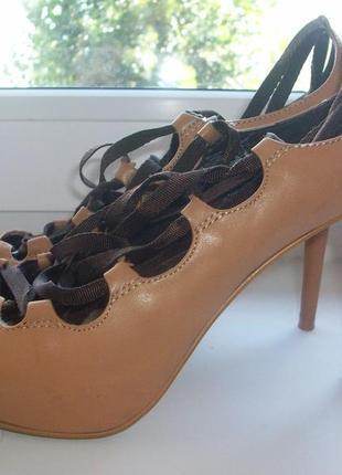 Туфли женские искусственная кожа р.37