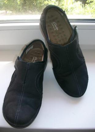 Туфли женские натуральная кожа clarks р.38