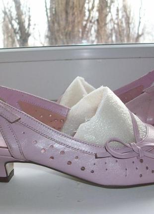 Туфли натуральная кожа р.37
