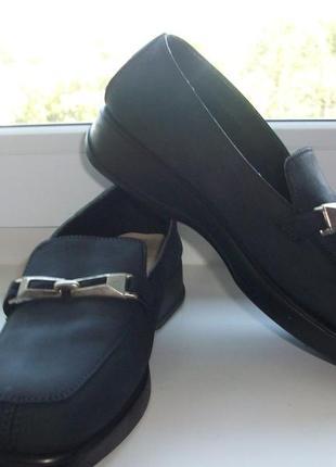 Туфли натуральная кожа marks&spencer р.36.5