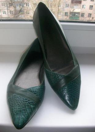 Туфли женские натуральная кожа faith р.40