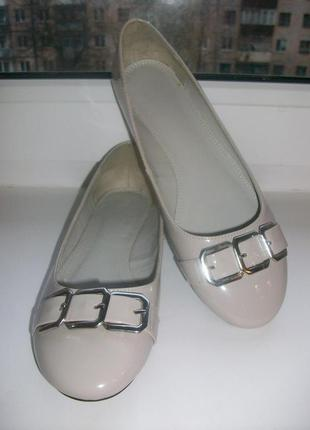 Туфли-балетки женские marks&spenser р.36