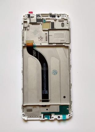 Xiaomi Redmi 5 дисплейный модуль с рамкой (экран + тачскрин + рам