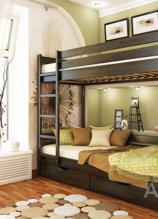 Кровать Двухъярусная Дуэт 800*1900