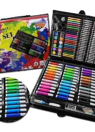 Набор для детского творчества рисования чемоданчик на 150 предмет