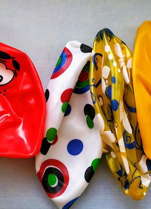 Мячи резиновые надувные набор 8шт