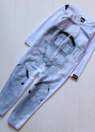 Star wars. размер 3-4 года. новая флисовая пижама для мальчика