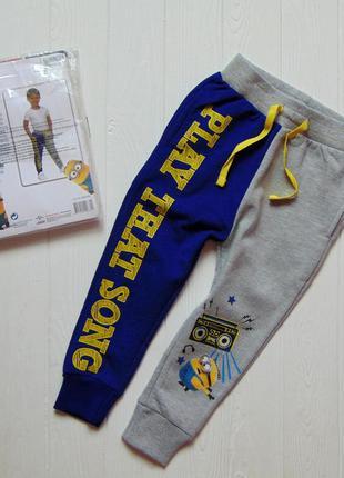 Disney. размер 2-3 года. новые яркие спортивные штаны для маль...