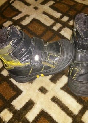 Ботинки сапожки 24 размер . зима