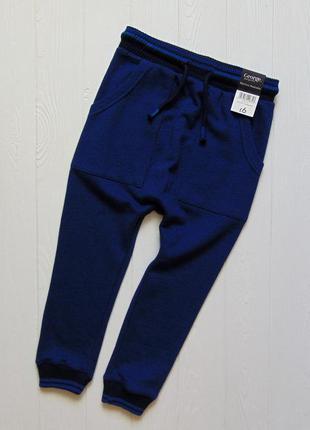 George. размер 3-4 года. новые стильные спортивные штаны для м...