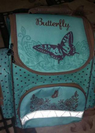 Рюкзак школьный  , портфель для девочки 1-4 класс