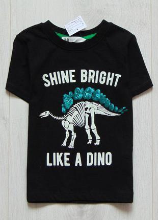 Новая стильная футболка для мальчика. h&m. размер 2-4 года