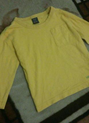 Кофточка футболка на 1,5-2 года