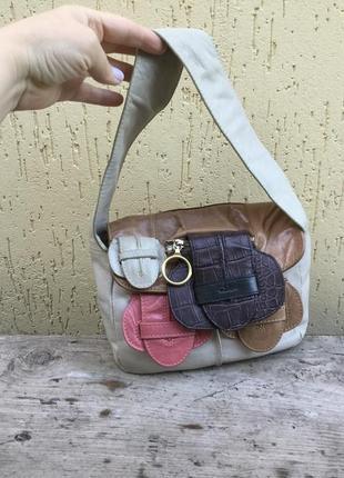 Винтаж,сумка кожаная,люкс бренд,оригинал,chloe,италия