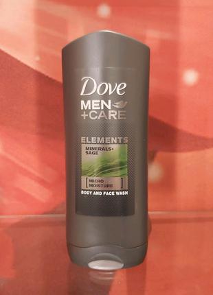 Dove men+care гель для душа тела и лица