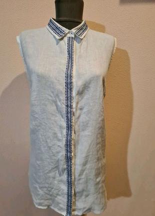 Блуза з льону