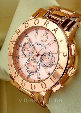 Женские наручные часы Pandora 7289 красное золото