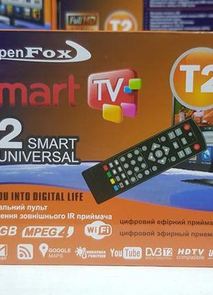 OpenFox T2 Smart приставка т2 тюнер ресивер декодер приемник Y...