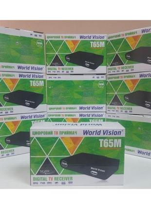 DVB-T2 World Vision T65M приемник тюнер приставка ресивер деко...