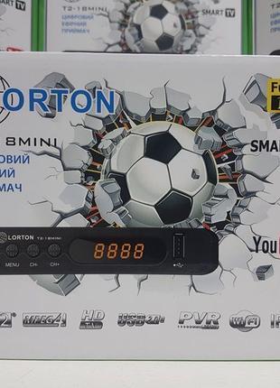 Новый приемник приставка тюнер т2 Lorton T2-18 Mini (аналог T6...