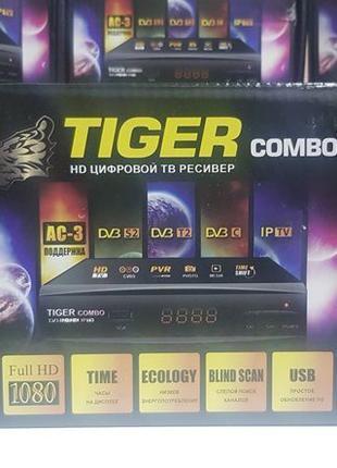 Tiger Combo HD тюнер т2 приемник ресивер приставка DVB-T2/T/C ...