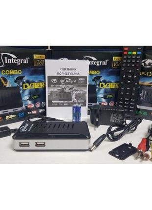Новый DVB-T/T2/S/S2 Комбинированный тюнер Sat Intefral SP-1319...