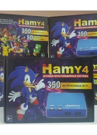 НОВАЯ игровая приставка Hamy4 350 игр Dendy 8 bit Sega 16 bit ...