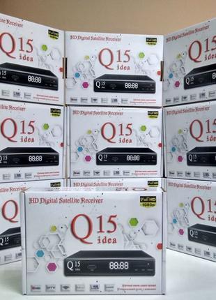 Новый Mpeg4 Full HD DVB-S/S2 Q-Sat Q-15 спутниковый ресивер тюнер