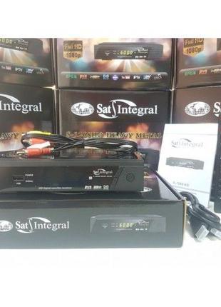 Спутниковый Mpeg4 DVB-S/S2 тюнер ресивер Sat Integral S-1268 M...