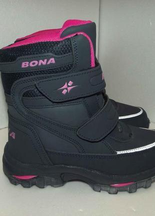 Новые кожаные ботинки, bona