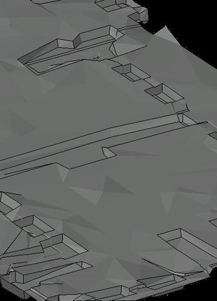 Обрахунок об'єму земляних масс (картограми чи 3D)