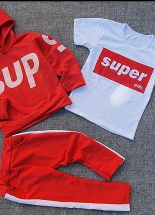Спортивный костюм с футболкой