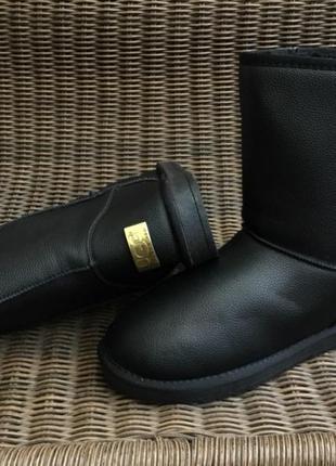 40,41р 42р 43р 44р 45р 46 р угги черные мужские ботинки дутики...