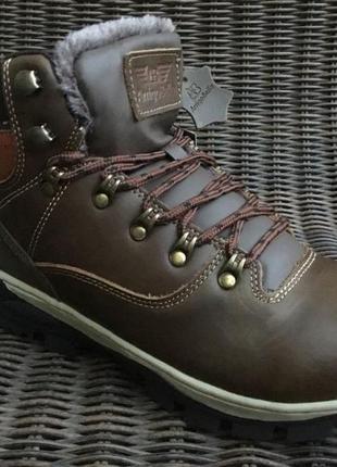 41-46р зимние кожаные зимние ботинки мужские кроссовки arrigo ...