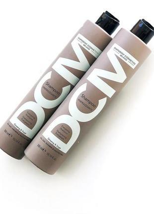 Шампунь против выпадения волос  dcm energising shampoo, 300 мл
